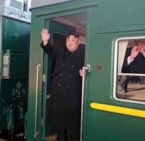 [포토뒷담화] 김정은 위원장의 열차 속 구상