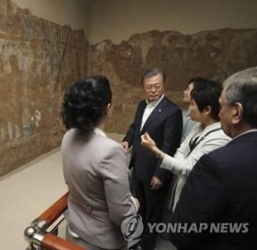 1천400년전 고구려 사신 묘사한 아프라시아브 벽화(종합)
