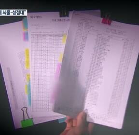 """[현장K] """"성접대·떡값""""..배차 갑질 3년 접대 기록 비밀 장부"""
