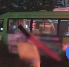 빗길에 마을버스 '쾅'..또 '컨베이어 벨트' 사고