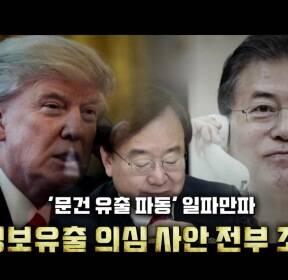 '통화유출' 파문 확산..'대치정국' 첨예화