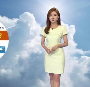 [날씨] 내일 중북부 무더위..충청 이남 장맛비
