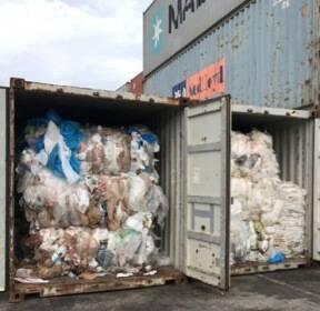 캄보디아서 적발된 美·캐나다산 쓰레기, 中 업체가 밀반입