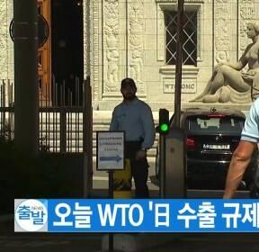 [YTN 실시간뉴스] 오늘 WTO '日 수출 규제' 치열한 공방 예상