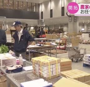 일본, '농산물 영업' 대행 서비스 인기