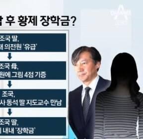 조국 母, 손녀 '의전원 유급' 직후 그림 기증..왜?