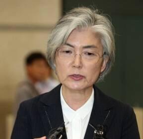 한·중·일 외교장관회의 마치고 귀국한 강경화 장관