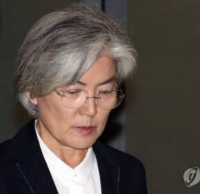 강경화 외교부 장관 귀국