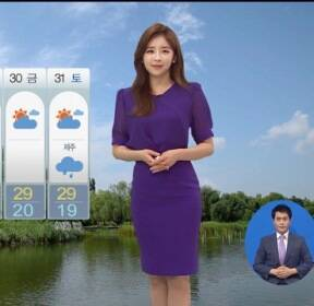 [날씨] 영동·제주 비..중부 내륙 소나기