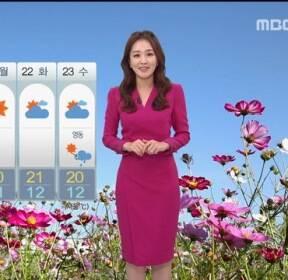 [날씨] 구름 낀 오후..내일 차츰 가을 비