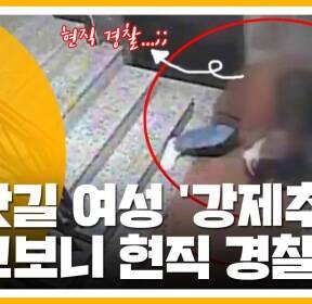 [자막뉴스] 귀갓길 여성 따라가 '강제추행'..알고보니 현직 경찰?