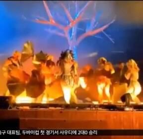 [뉴스터치] BTS 공연한 사우디 극장서 흉기 난동
