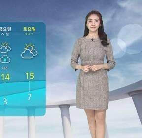 [날씨] 전국 곳곳 5~20mm 비..서울 낮 5도 '기온 뚝'