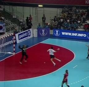 한국 여자핸드볼, 세르비아에 패배..무패 행진 멈춰