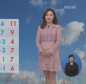 [날씨] 중부·영남 미세먼지 '나쁨'..중부 5mm 안팎 비