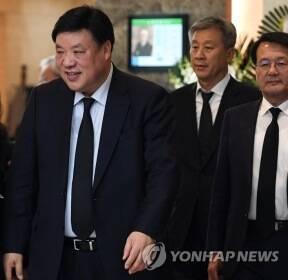 김우중 전 회장 조문 마친 서정진 셀트리온 회장