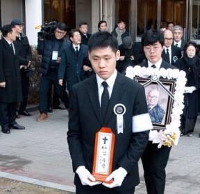 [사진] 김우중 전 회장 영결식