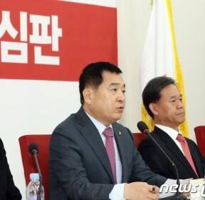 심재철 '문희상 의장 편파적 국회 운영 하고 있다'