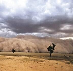 [포토] '산불 피해' 호주 이번엔 무시무시한 '먼지 폭풍'