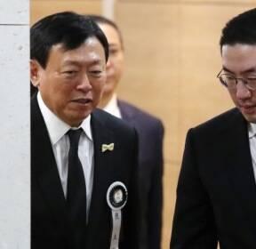 [포토]신격호 빈소 조문한 구광모 LG회장