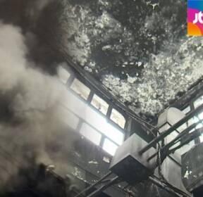 [밀착카메라] 1년 전 불탄 시장..'복구' 제자리 '불씨' 여전