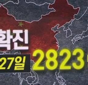중국 확진자 2천 8백여 명 육박..춘제·방학 연장