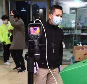 [MD포토] '신종 코로나바이러스 감염증' 확산 방지 총력!