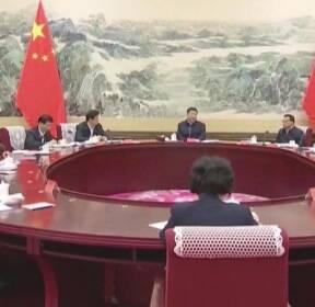 중국 내 외국인 첫 감염..'사스' 앞지른 확산세