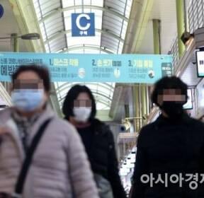 [포토]신종 코로나에 마스크 쓰고 시장 찾는 시민들