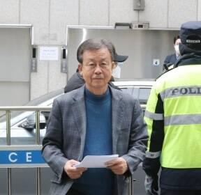 공관위 회의 참석하는 민주당 원혜영 공천관리위원장