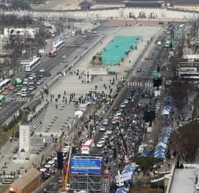 범투본, 서울市 불허 방침에도 광화문서 주말 집회