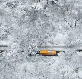 남산, 겨울의 작별선물