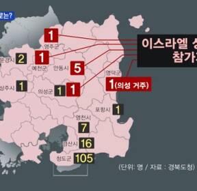 '이스라엘 성지순례' 9명도 확진..어디서 감염?