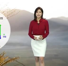 [날씨] 내일도 포근..점차 흐려지며 밤부터 전국에 비