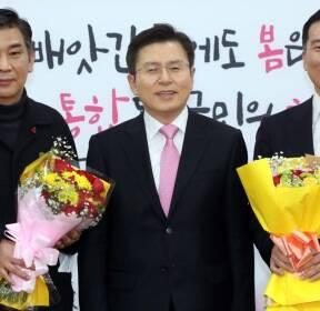 미래통합당 입당한 최승재 소상공인연합회장과 백대용 소비자시민모임 회장