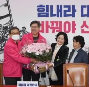 [서울포토] 핑크당에 핑크장미를..