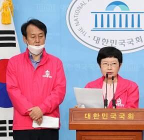 안명옥 위원장, 코로나19 대응 관련 기자회견