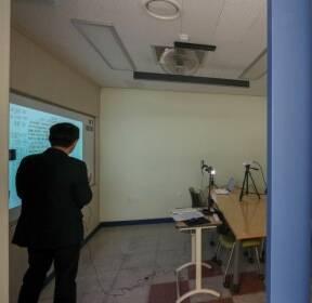 [사진]코로나19 대응 수업 영상 녹화