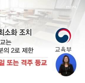 """""""노래방·클럽 등 QR코드 입장""""..""""등교학생 2/3 밑으로"""""""
