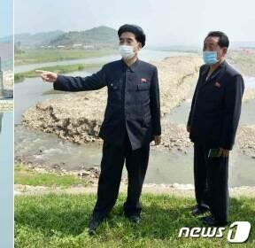 北 박봉주, 평안남도 관개시설 현지 시찰