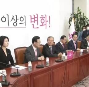 통합당 '김종인 비대위' 공식 출범..사무총장에 김선동