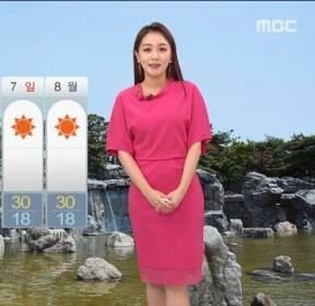 [날씨] 내일 중부 요란한 비..남부 30도 안팎 더위
