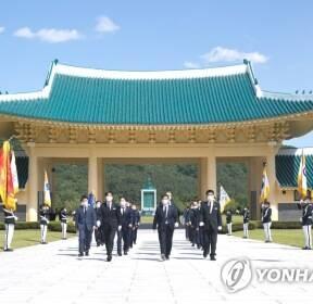 대전현충원 참배한 과기정통부