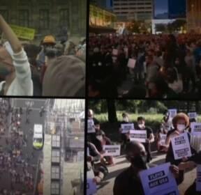 """""""인종차별, 미국만의 문제 아냐""""..전세계로 번지는 시위"""