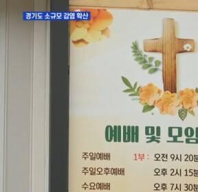 경기도 곳곳 소규모 집단감염 확산