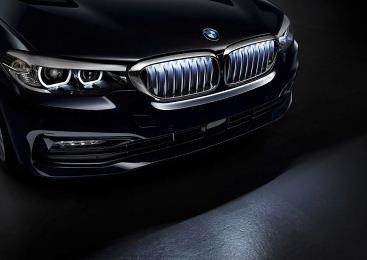BMW의 그릴 자부심, 5시리즈 LED 라이팅 그릴