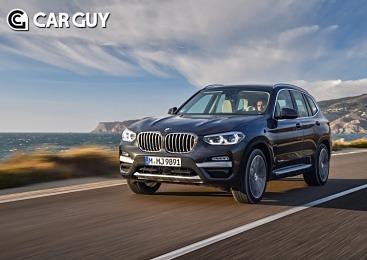 BMW, 가솔린 엔진 단 X3·X4 출시..6400만원부터