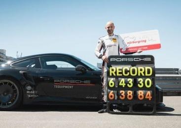 포르쉐 911 GT2 RS, 뉘르부르크링 양산차 최고속 기록 수립