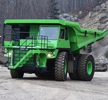 세상에서 가장 큰 전기차 'eDumper' 무게만 111톤