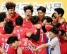 [포토] 한국전력, 우리카드에 3-0 완승